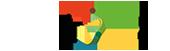 Kleurrijk gezin & jeugd Logo